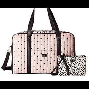 Betsey Johnson Weekender Travel Bag Cruize NWT